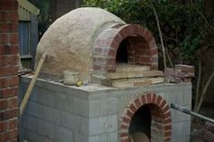 How to make a pizza oven - part 2