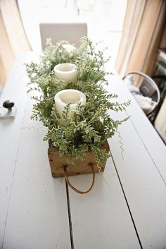 DIY Rustic Wooden Box Centerpiece - See How You Can Make This Beautiful Rustic Wooden Box . DIY Rustic Wooden Box Centerpiece - See How You Can Make This Beautiful Rustic . Wooden Box Centerpiece, Dining Room Table Centerpieces, Diy Centerpieces, Dining Table, Dinning Room Table Decor, Porch Table, Centerpiece Wedding, Christmas Centerpieces, Wood Table
