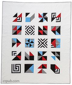 Stripe Quilts Made Modern: 12 Bold & Beautiful Projects * Tips & Tricks for Working with Striped Fabrics by Lauren S. Sampler Quilts, Amish Quilts, Amish Quilt Patterns, Striped Quilt, Striped Fabrics, Quilting Projects, Sewing Projects, Quilt Modernen, Tree Quilt