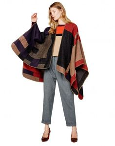Multicolor poncho - Code collection