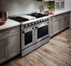 Dual Oven, Double Ovens, Freestanding Double Oven, Thor, Stainless Steel Griddle, Stainless Steel Counters, Microwave Drawer, Counter Depth Refrigerator, French Door Refrigerator