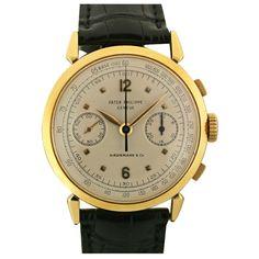 Patek Philippe, Genève Chronograph Ref 1579 Swiss 1950s