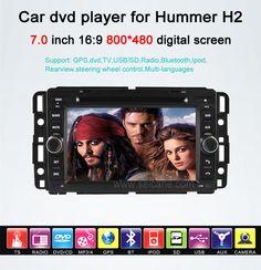 Hummer H2 car dvd gps