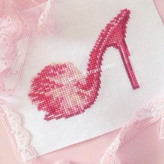 Slipper Cross Stitch