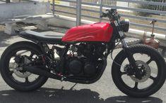 Image Result For Kawasaki Gpz 550 Cafe Racer