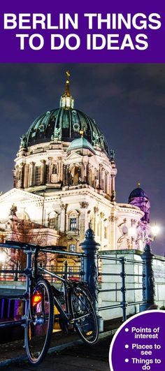 Berlin points of interest, places to see, things to do. #Berlin is identified by its history. The people, sights, and personality of this city ...