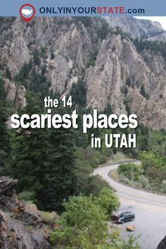 The 14 scariest places in Utah Beautiful Places To Visit, Cool Places To Visit, Places To Travel, Beautiful Homes, Scary Places, Haunted Places, Creepy Things, Abandoned Places, Utah Vacation