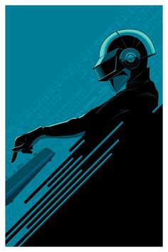 Daft Punk by Craig Drake from the collection of Andy Khouri