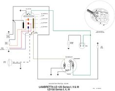 scooter help 150 ld series ii electrical diagram lida lila rh pinterest com 3-Way Switch Wiring Diagram Basic Electrical Wiring Diagrams