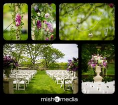 Outdoor wedding reception bliss - aren't the details just incredible?