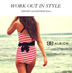 fed692633b Albion Fit Showstopper Swimsuit Love the one piece!