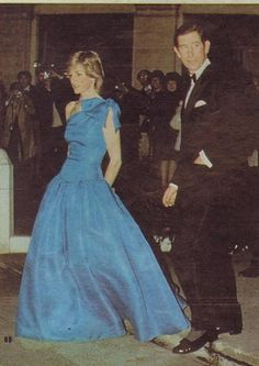 November 29, 1983: Prince Charles & Princess Diana at the Red Dragon Ball at London's Grosvenor House Hotel. The Ball aids the Wales In Trust Appeal which raises funds to acquire land in Wales