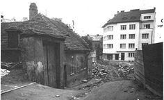 Rekonstrukce Mostní ulice v roce 1930
