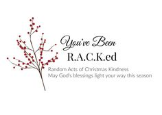 30 Random Acts of Christmas Kindness - The Simple Proof Christmas
