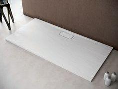 Piatto doccia rettangolare in resina EASY FIX by Olympia Ceramica