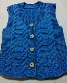 This Pin was discovered by ayş Baby Boy Knitting Patterns, Knitting For Kids, Knitting Designs, Knit Patterns, Baby Patterns, Knitted Baby Cardigan, Knit Baby Sweaters, Knitted Baby Clothes, Baby Girl Cardigans