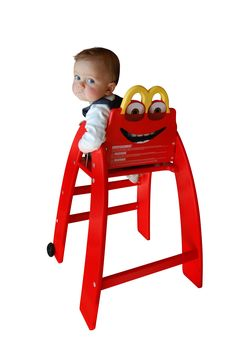 #happybabychair #mcdonalds #restaurant #chaisehaute #enfant