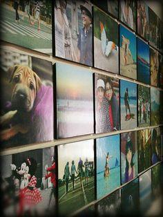 eine echt coole Idee für Fotocollage auf Leinwand