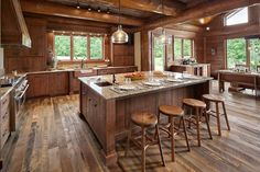 523 best Rustic Kitchens images on Pinterest in 2019 ... on Rustic:mophcifcrpe= Cottage Kitchen Ideas  id=13645
