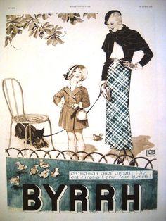 Vintage Ad 1932 Advertising page Old Print BYRRH by OldMag on Etsy, $10.00