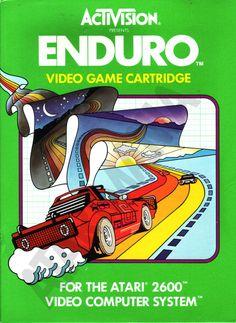 "Les ""Atari 2600 Rainbow Boxes"" d'Activision - Enduro - 1983"