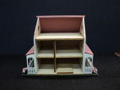 144th Dollhouse   Dollhouse for Inside Your Dollhouse 1 144th Scale Pink   eBay