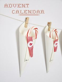 DIY advent calendar by margie