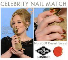 Colour like Adele? Bio Sculpture Nails, Celebrity Nails, Desert Sunset, Nails Inspiration, Celebs, Adele, Nail Ideas, Van, Colour