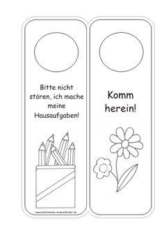 Türschilder Kinderzimmer Vorlagen   Türschilder ausmalen   Ausmalbilder ::