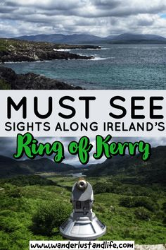 A Ring of Kerry Route planner to help you find the best stops Ireland Travel Guide, Europe Travel Tips, Travel Abroad, Travel Guides, Travel Destinations, Travel Articles, Travel Hacks, Route Planner, Ultimate Travel
