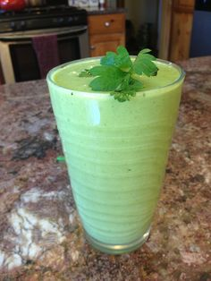 Cleansing Energy smoothie:   8 ounces of almond milk or plain soy milk , ,2 scoops vanilla Shaklee 180 smoothie, 2-3 bunches of kale, Celery, Handful of parsley, Half a pear, 1/8-1/4 frozen banana.   Blend until smooth add ice.   Low glycemic index, 25gm protein, 14gm fiber.   YUMMMMM.