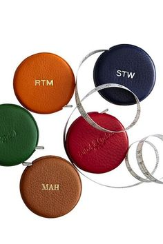 Leather Tape Measures from Mark  Graham