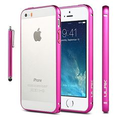 iPhone 5S Case, ULAK Case for Apple iPhone 5S 5 5G Luxury Ultra Thin Metal aluminum Alloy Bumper Frame Case Cover with Screen Protector and Stylus (Rose Pink) ULAK http://www.amazon.com/dp/B00MVS65Z8/ref=cm_sw_r_pi_dp_zWaBub086RG5T