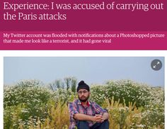 In an article he wrote for the Guardian earlier this month, Jubbal said he received a death threat because of the fake photo in December, from a Twitter user who listed his home address and number. | This Sikh Man Has Been Wrongly Accused Of A Terror Attack For A Second Time - BuzzFeed News