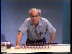 Newton's 3rd law of Motion Dramatic demo in Physics by Prof Julius Sumner Miller VTS_04_1.avi