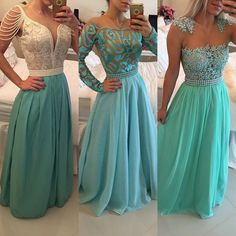 Barbara Melo :: How Loved Tiffany Bridesmaid Dresses, Prom Dresses 2016, Prom Dresses Blue, Pretty Dresses, Formal Dresses, Bridesmaids, Glamour, Prom Gowns Elegant, Bodycon