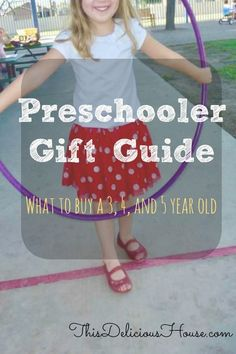 Preschooler Gift Guide: Gifts for 3 to 5 Year Olds - Buy only what and 5 year olds really want! Don't miss this gift guide listing the toys that - Jojo Siwa Birthday, Barbie Birthday Party, Trolls Birthday Party, Unicorn Birthday Parties, Crafts For 3 Year Olds, 5 Year Olds, Easy Crafts To Sell, Preschool Gifts, Baby Shower Decorations For Boys