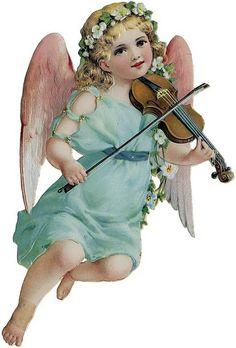 cherub violinist by autumnsensation, via Flickr
