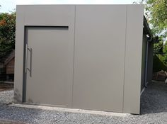 Facade, Locker Storage, Shed, Architecture, Container, Middle, House, Studio, Home Decor