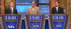 IBM Watson...being an IBMer, watching Watson compete on Jeopardy against the top winners was very satisfying...