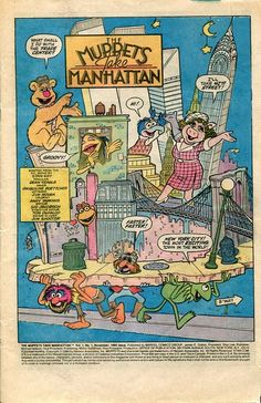 The Muppets Take Manhattan Comic Book