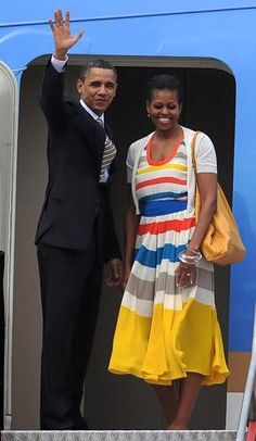 44th President Barack Obama First Lady Michelle Obama