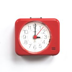 travel red alarm clock - Google Search