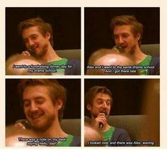 Arthur Darvill and Alex Kingston. The actors of Doctor Who rule. Doctor Who, Eleventh Doctor, Arthur Darvill, Drama School, Alex Kingston, Out Of Touch, Don't Blink, Geek Out, My Tumblr