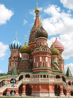 St Basil's, Moscow ... He is taking me here one day!!!