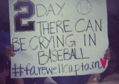 Just one of the amazing fan signs at last nights game