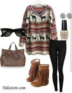 Love the oversized sweater the most