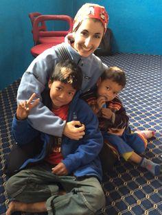 Después de un taller de emociones en el Orfanato Happy Shipal de Nepal.