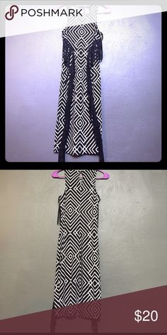 NWT Long Dress Material Juniors Size S This long dress was designed for comfort and movement. It has a wonderful design. Your going to love the rich texture and quality. It is an XS and made of Polyester/Spandex. It comes with fast shipping and great packaging! Material Girl Dresses