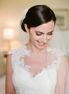 Wedding hair and makeup at Keswick Hall by Charlottesville Makeup Artist, LLC located in Charlottesville, VA. Bridal Hair And Makeup, Wedding Makeup, Hair Makeup, Gorgeous Hair, Beautiful Bride, Wedding Updo, Wedding Hairstyles, Bridal Gown Styles, Full Hair